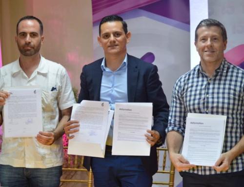 Canal 6 Firma convenio de colaboración con Red Tal y Dailymotion