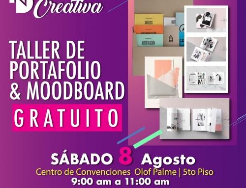 Nicaragua Diseña te trae la oportunidad de ser participe del Taller De Portafolio Y Moodboard 2020