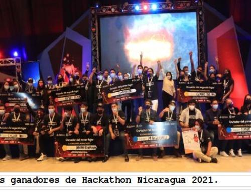 Estos son los ganadores del Hackathon Nicaragua 2021